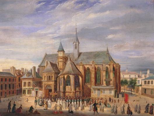 Pilgrimage to Notre-Dame de Boulogne, 1840