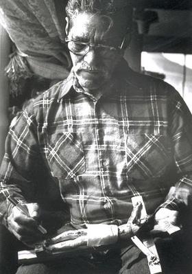 Hispanic Culture in Utah: Hecho en Utah (Made in Utah): Robert Martinez Carving a Crucifix