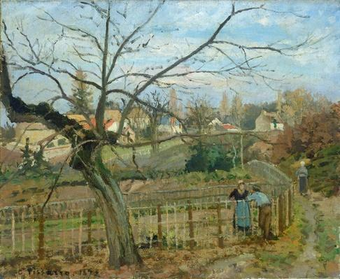 The Fence, 1872