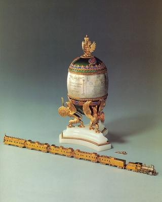 The Trans-Siberian Railway Egg, 1900
