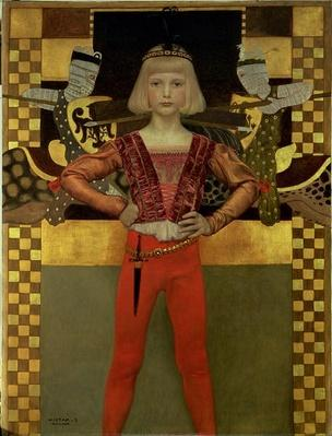 Boy in Medieval Costume, 1906