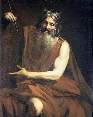 Moses with the Tablets of the Law, c.1627-32