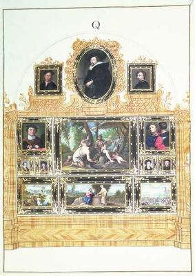 Book I f.Q Painted Inventory of Emperor Charles VI's Collection in the Stallburg, Vienna, 1720-30