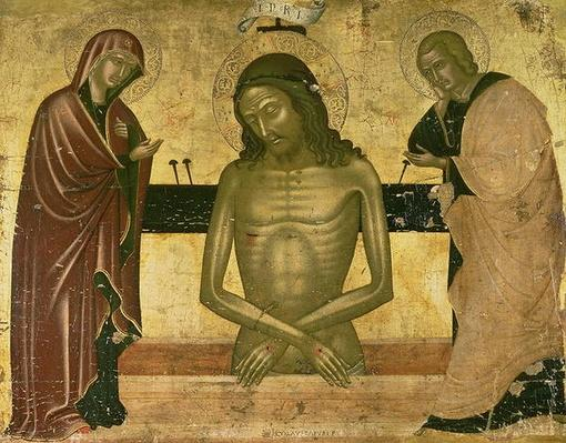 The Agony of Christ with the Virgin and St. John the Baptist c.1489-93