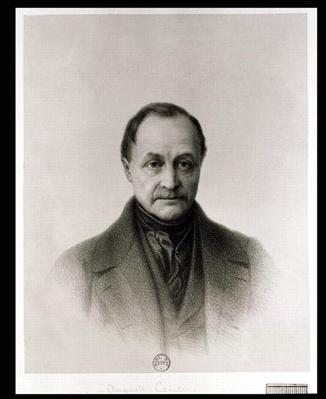 Portrait of Auguste Comte
