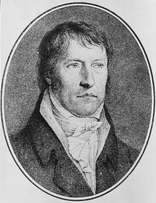Portrait of Georg Wilhelm Friedrich Hegel