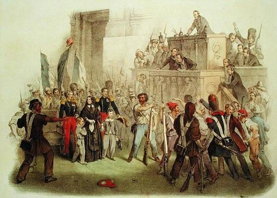 The Masses at the Chamber of Deputies, 24th February 1848