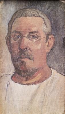 Self portrait, 1902-3