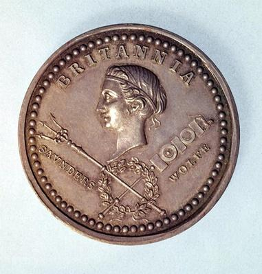 Medal commemorating the British capture of Quebec, 1759
