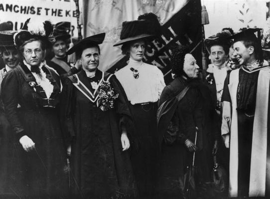 British Feminists | Women's Suffrage | U.S. History