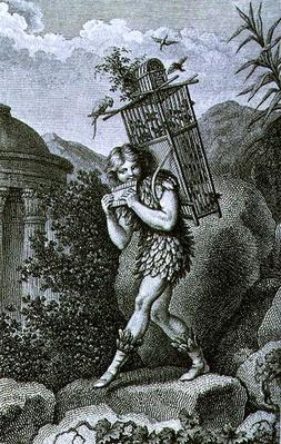 "Papageno: ""I am the birdcatcher, yes! Always cheerful, fiddle-di-i, fiddle-di-da!"", Act I of 'The Magic Flute' by Wolfgang Amadeus Mozart"