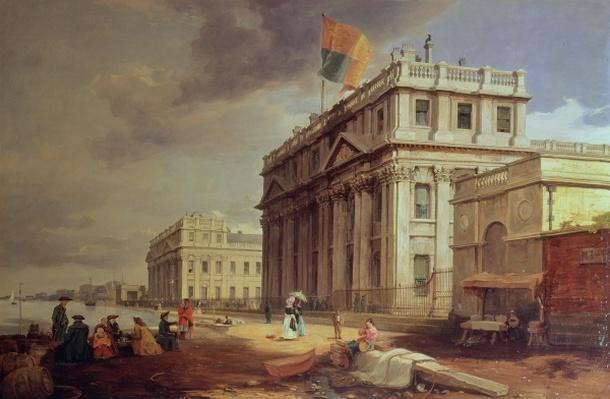 Greenwich Hospital, 1842