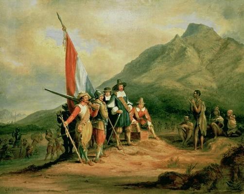 The Landing of Jan van Riebeeck
