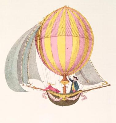 Design for a dirigible, French, c.1785
