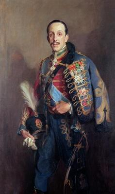 Portrait of King Alfonso XIII of Spain