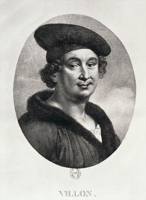 Portrait of Francois Villon