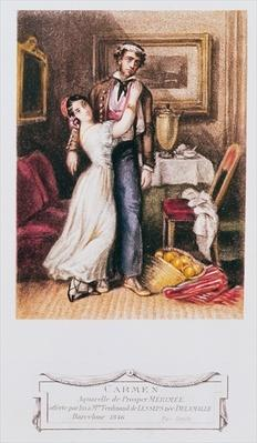 Carmen and Don Jose, 1846
