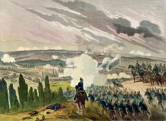The Battle of Sedan, 1st September 1870