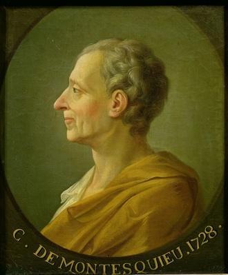 Portrait of Charles de Montesquieu