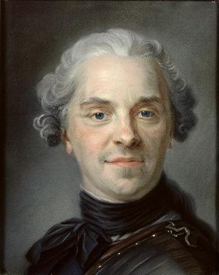 Portrait of Maurice, Comte de Saxe
