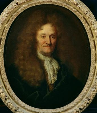 Portrait of Jean de La Fontaine