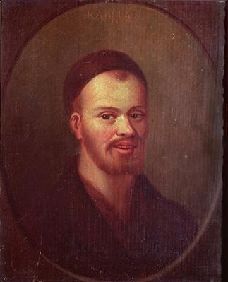 Portrait of Francois Rabelais