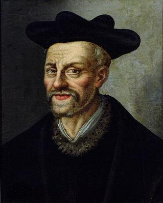 Portrait of Francois Rabelais