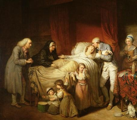 The Last Moments of the Beloved Wife, 1784