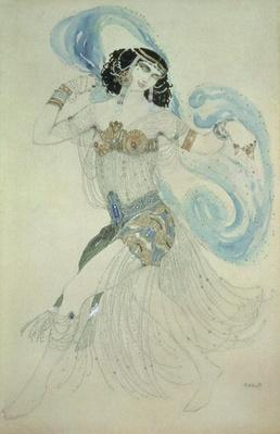 Costume design for Salome in 'Dance of the Seven Veils', 1909
