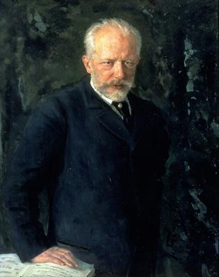 Portrait of Piotr Ilyich Tchaikovsky