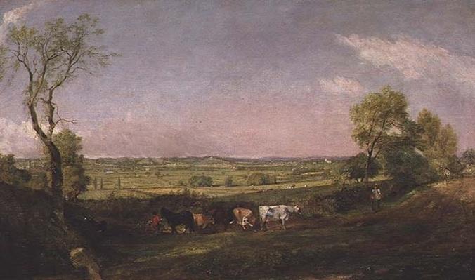 Dedham Vale: Morning, c.1811