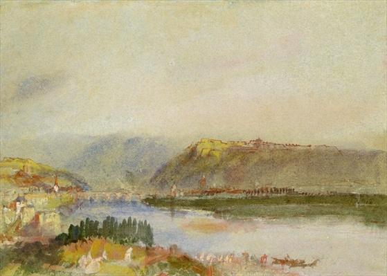 Givet from the North, c.1839