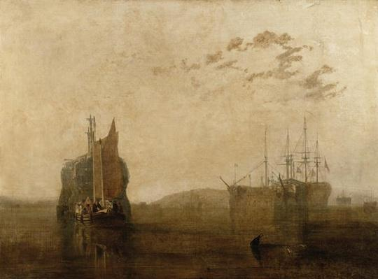 Hulks on the Tamar, c.1812