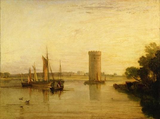 Tabley, the Seat of Sir J.F. Leicester, Bart.: Calm Morning, c.1809