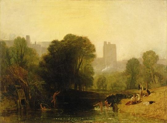 Near the Thames Lock, Windsor, c.1809