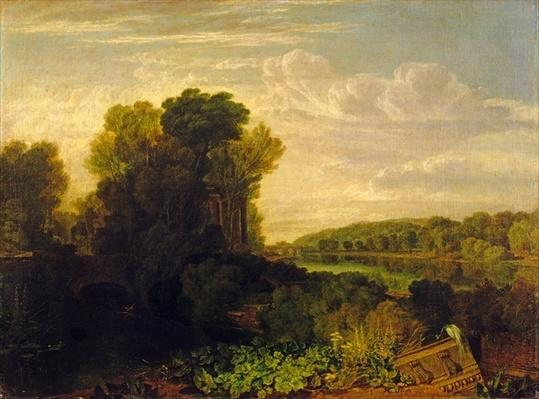 The Thames at Weybridge, c.1807-10