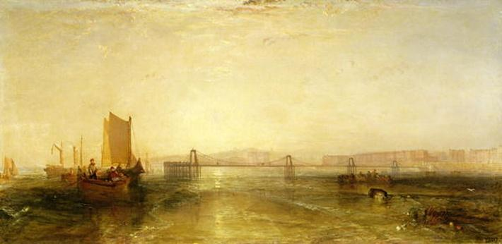 Brighton from the Sea, c.1829