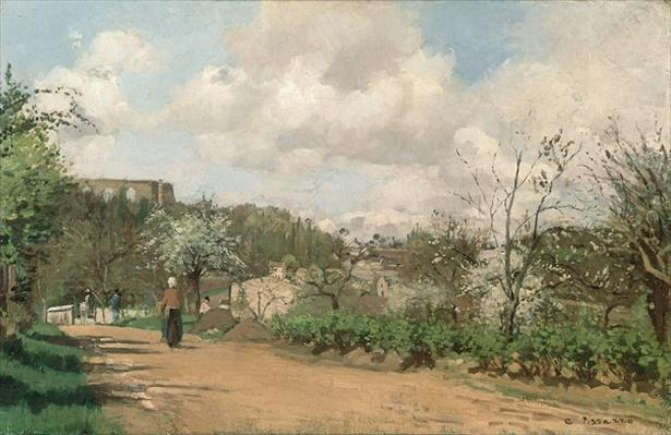 View from Louveciennes, 1869-70