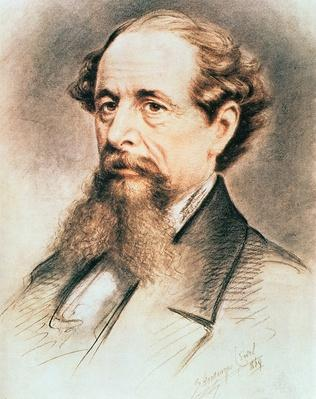 Portrait of Charles Dickens, 1869