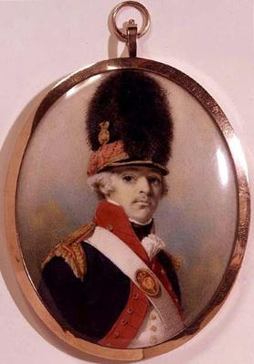 Miniature of 1st Lord Bloomfield in Military Uniform