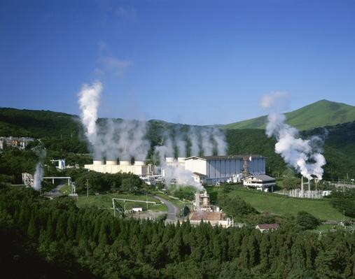 Steam Emitting From Geothermal Power Plant | Earth's Resources