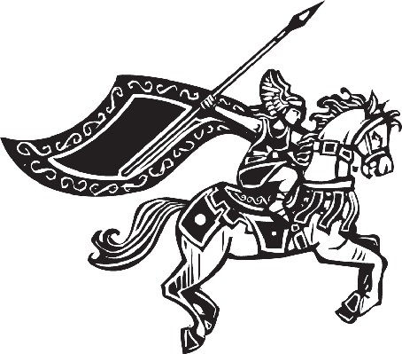 Valkyrie on Horse | Clipart