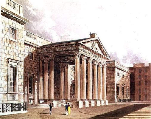 Carlton House, engraved by R. Reeve, c.1819