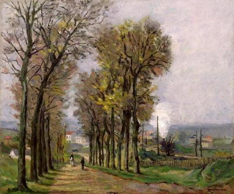 Landscape in the Ile de France, c.1878