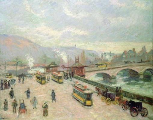 The Pont Corneille at Rouen, 1898