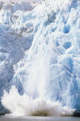 Glacier Crumbling Into Ocean | Earth's Surface