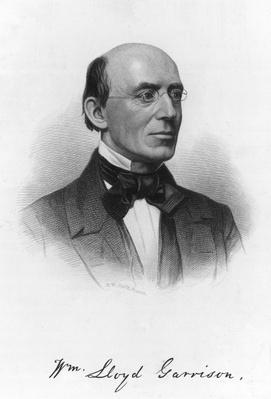 Portrait Of William Lloyd Garrison | The Transcendentalists | U.S. History