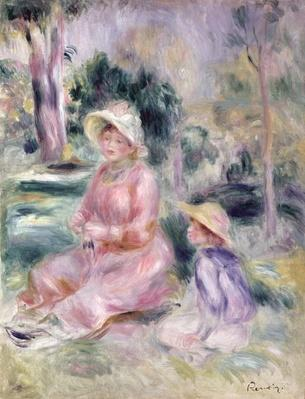 Madame Renoir and her son Pierre, 1890