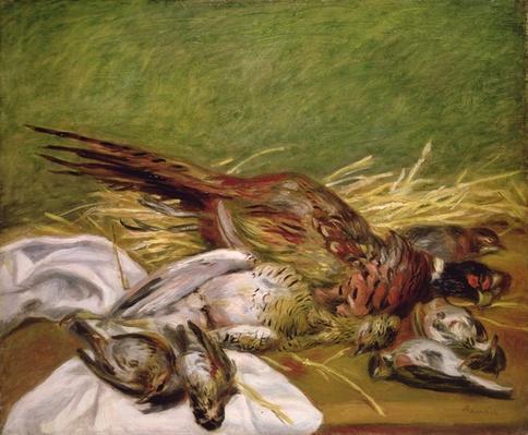 Pheasant and Thrushes, 1902