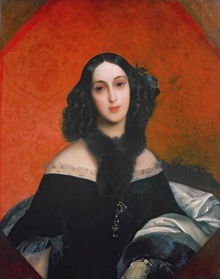 Portrait of M.A. Bek, 1840